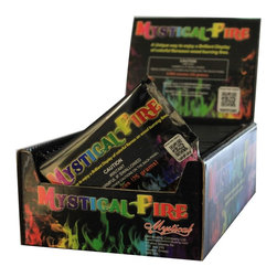 None - Mystical Fire Flame Colorant 25-pouch Box - Mystical Fire Flame Colorant produces brilliant,captivating colors for indoor fireplace or outdoor fire pit. Just drop an unopened pouch on the fire and watch the long-lasting,vibrant colors go on and on.