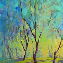 490202 Konnie Kim_Colors Of Spring 7, Original, Painting - 24x30 inch original acrylic on canvas