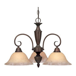 Centennial 3 Light Nook, Rubbed Bronze