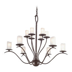 Troy Lighting - Transitional Twelve Light ChandelierAvalon Collection - Since 1963, Troy Lighting has been creating highly original fixtures shaped by a passion for design, quality and value.