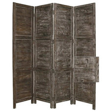 Traditional Screens And Wall Dividers by The Room Divider Store