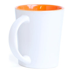 Forte Promo - Orange Mugs - A mug so colorful, no one will think you're a drip.Ships in: 1-2 business days