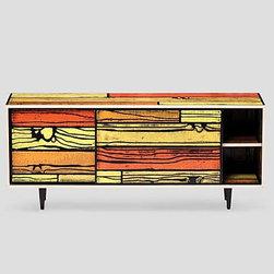 Established & Sons - Established & Sons | WrongWoods Low Cabinet - Design by Richard Woods and Sebastian Wrong, 2007.