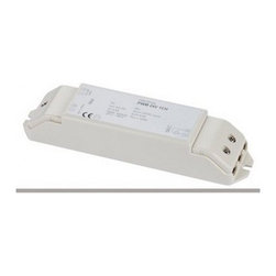 """SLV Lighting - SLV Lighting PWM CONVERTER 1 CHANNEL 12V DC/24V DC 470550 - The PWM converter 1 channel 12v DC/24V DC (470550) was designed in Germany. Used for dimming 12V DC and 24V DC single color strip applications. Independent converter. With control voltage of 1-10V and output of 4.1A.  Product Details: The PWM converter 1 channel 12v DC/24V DC (470550) was designed in Germany. Used for dimming 12V DC and 24V DC single color strip applications. Independent converter. With control voltage of 1-10V and output of 4.1A. Details:                         Output:             ta: 50 C/tc: 70 C                            Output power:            100W max                                        Dimensions:                                     Lenght: 6.7"""" (17.01 cm) X Width: 1.6"""" (4.06 cm) X Height: 1.2"""" (3.04 cm)                         ETL - listed certified for use in U.S., Canada and all other countries worldwide."""