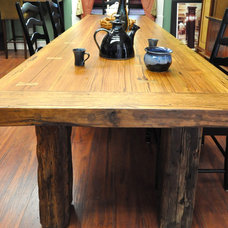 Farmhouse Dining Tables by ZCI Woodworks