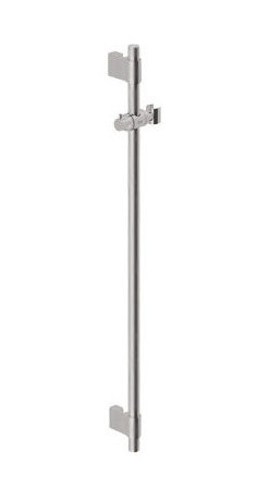 Grohe - Grohe 28797EN1 Brushed Nickel Accessories Personal Hand Shower Slide - Adjustable height, swivel hand shower holder  Variable fixing point mounting brackets for easy retrofit and corner mounting  Multiple-function mounting brackets also serve as a hose guide  Optional Universal Accessory Tray available (28 549)