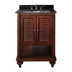 """Avanity - Avanity Tropica 24 Vanity Cabinet, Weathered Brown (TROPICA-V24-AB) - Avanity TROPICA-V24-AB Tropica 24"""" Vanity Cabinet, Weathered Brown"""