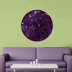 My Wonderful Walls - The Auriga Nebula Wall Sticker - Astronomy Art by Elise Mahan, Small - - Product:  nebula of Auriga constellation wall decal