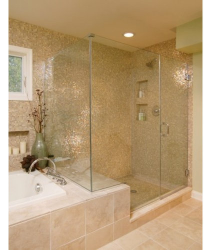 Traditional Showers by Delta Glass