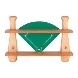 Lite Source - Lite Source 12MT40 Baseball Field Shelf - Lite Source 12MT40 Baseball Field Shelf