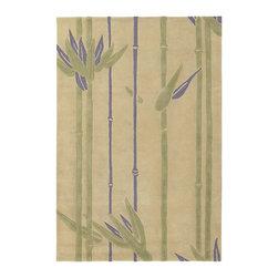 Chandra Rugs - Hand-Tufted Designer Wool Rug ALF2102 - 7'9 x 10'6 - Hand-tufted Designer Wool Rug - ALF2102 - 7'9 x 10'6
