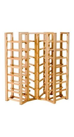 Corner Racks - Wine Cellar Products - C32 - Corner Rack for 32 Standard Bottles