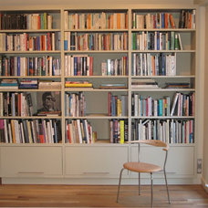 Contemporary Bookcases by SBT Design