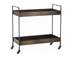 Ponce Iron Bar Cart -