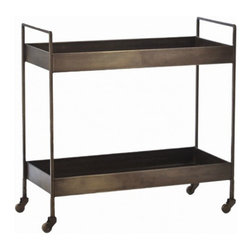 Ponce Iron Bar Cart -