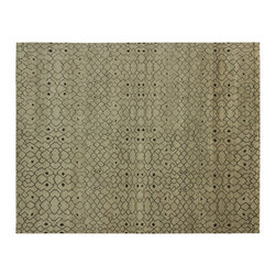 1800-Get-A-Rug - Hand Knotted Rug Art Deco Moroccan Berber Plush and Thick Sh6029 - About Modern & Contemporary