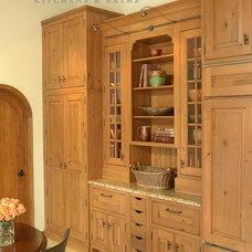 Traditional Kitchen by brooksBerry & Associates, Ltd