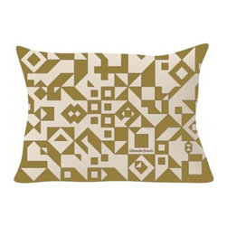 Vitra - Vitra | Suita Geometric Pillow - Alexander Girard design. By Vitra.  Get your modern sofa in shape with the Suita Geometric Pillow. Featuring an array of geometric shapes, the Suita Geometric Pillow adds visual movement and style. Combine any of the twelve Suita Pillow styles to create a designer statement in your modern living room or bedroom.