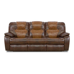 Recline Designs - Camry Queen Sleeper Sofa - 1 Southern Recline Queen Sleeper Sofa 838-36