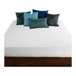 """PlushBeds - PlushBeds 8"""" Gel Memory Foam RV Mattress - Enjoy the cooling benefits of our gel memory foam RV mattress. CertiPUR certified gel memory foam with a supportive Plushfoam core with maximum breathability, our cool gel RV mattress is the perfect solution for a comfortable, cooler night's sleep."""