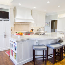 Traditional Kitchen Islands And Kitchen Carts by WoodArt Fine Cabinetry