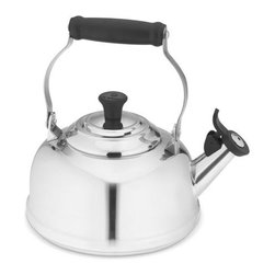 Le Creuset Stainless Steel Teakettle - A cup of tea will warm you up. I love how the design of this teakettle is so traditional, but the stainless steel gives it a modern flair.