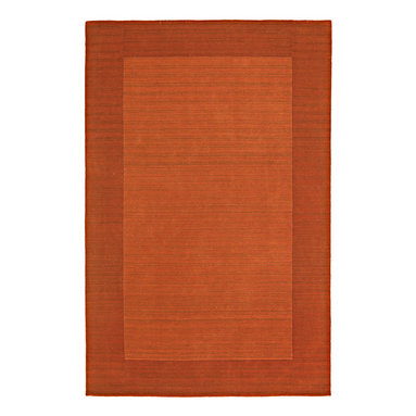 """Kaleen - Kaleen Regency Regency (Pumpkin) 9'6"""" x 13' Rug - Regency offers an array of fourteen beautifully elegant subtle tones for today's casual lifestyles. Choose from rich timeless hues shaded with evidence of light brush strokes. These 100% virgin wool, hand loomed rugs are sure to add comfort and warmth to any setting. Hand crafted in India."""