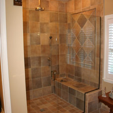 Traditional Bathroom by Brooke Eversoll, CKD – S&W Kitchens, Inc.
