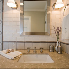 Traditional Bathroom by Denise Morrison Interiors