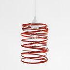 Ridgely Studio Works - Ridgely Studio Works | Spiral Nest Pendant - Design by Zac Ridgely, 2009.