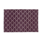Aubergine Brooke Rug - Madeline Weinrib is it when it comes to rugs. I love this one especially because I am really into purple right now.