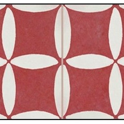 Casart coverings - Hahah Wallcoverings, Red, Backsplash (15 Sq. Ft.), Casart Regular - Add some Marrakesh style to your home dcor with this Moroccan-inspired collection of faux tile patterns. This backsplash covering features a white and red square pattern.