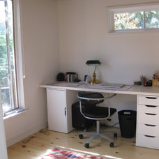 Contemporary Home Office by Summerwood Products