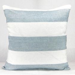 Causeway Stripe Throw Pillow -