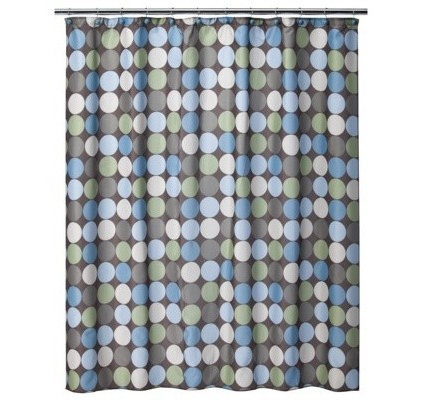 Contemporary Shower Curtains by Target