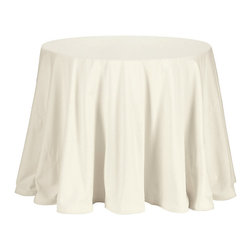 "Ballard Designs - 36"" Essential Duo - Our specially priced sets include a 36""Diam. Terrific Table and your choice of 96""Diam. Tablecloth (each of which is available individually)."