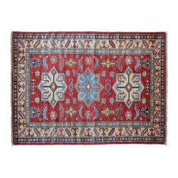 1800GetARug - Super Kazak Hand Knotted Rug Tribal Design Sh11167 - About Tribal & Geometric