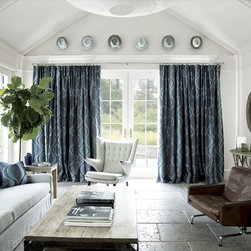 Smith and Noble Single Pleat Drapery - Panels and drapery add dimension to any window. That's why drapes and curtains are the treatments of choice for showcase settings like living rooms, formal dining rooms or an intimate master bedroom. Starting at $158+