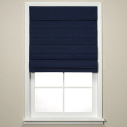 Louis Hornick & Company, Inc. - Navy Chatham Cellular Cordless Shade - Introducing a window shade that does it all with these Chatham shades.