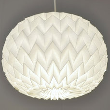 modern ceiling lighting by Fiber Lab