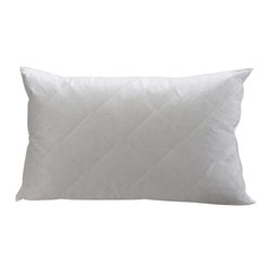 Pacific Coast - Restful Nights Quilted Pillow Super Standard - High loft fiber fill is complemented with a layer of soft, quilted cotton for exceptional comfort while you sleep.
