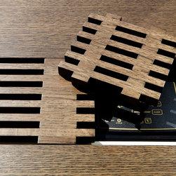 Wooden Grill Detail for Radiator Cover - Custom made wooden grill detail for heat ventilation.