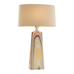 Marbled Lamp - I am in love with this gorgeous marbled lamp. It's so chic, so '70s,  so utterly hip. I would pop this in any fabulous room.