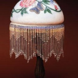 CG - 17 Inch Butterfly with Rose Decorative Standing Lamp with Beads - This gorgeous 17 Inch Butterfly with Rose Decorative Standing Lamp with Beads has the finest details and highest quality you will find anywhere! 17 Inch Butterfly with Rose Decorative Standing Lamp with Beads is truly remarkable.