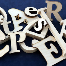 Modern Wall Letters by Craftcuts