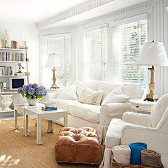tropical  living room from Coastal Living