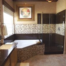 Bathroom Countertops by Granite Transformations Las Vegas