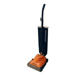 Thorne Electric - Thorne U40 Commercial Upright Vacuum - Double helix brush design make this upright outstanding when it comes to picking up dirt and debris. You'll appreciate the performance of the powerful 5-amp motor and easy maneuverability to make you the master of any mess.
