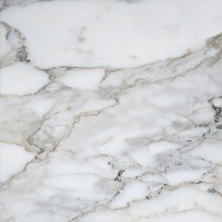 marblesystems - Calacatta Gold Extra Polished Marble Tiles - Natural marble tile. Made in Turkey.