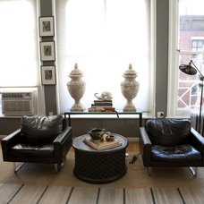 Eclectic Family Room by Greyscale Interiors